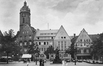 Jena - Alte Fotos vom Jenaer Markt ab dem Jahre 1790